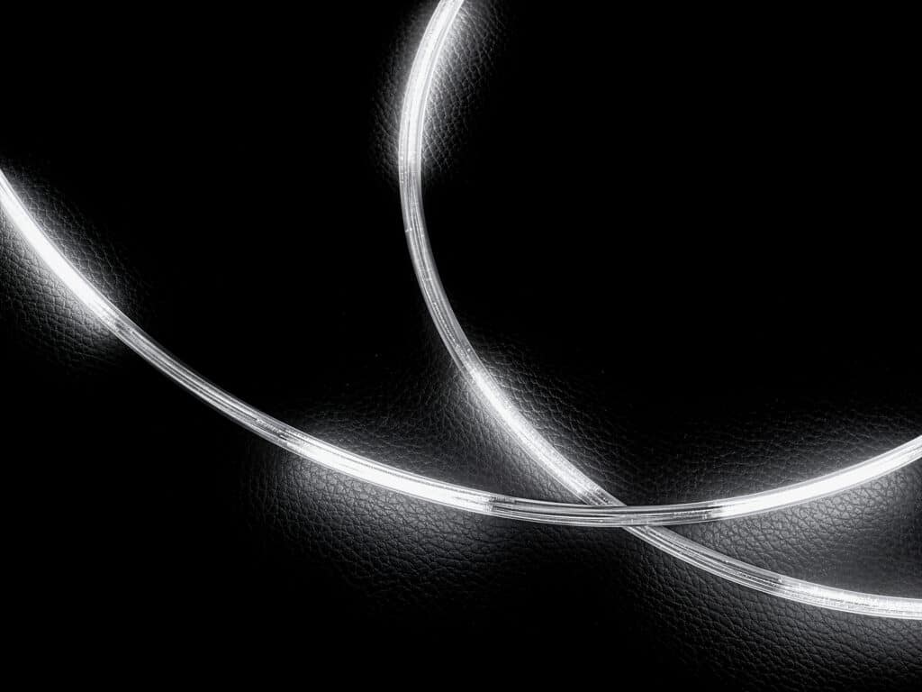 background image with lightstrips