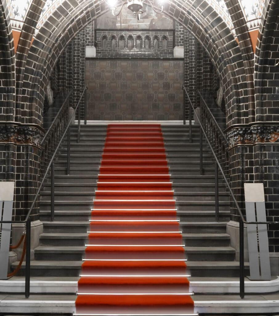 luminous staircase